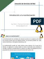 1. Introducción a La Monitorización