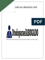 Temario Teoría general de las obligaciones.doc