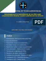 Metodología Para La Regionalización de Una MEA Según Comportamiento Eléctrico, Usando La Distribución de Corriente