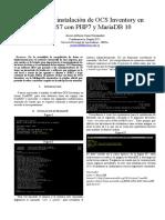 Informe de Instalación de OCS Inventory en CenTOS7 - Javier Cano GRD (1621560)
