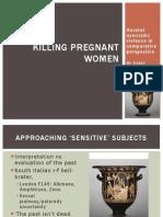 Killing Pregnant Women Ancient Uxoricidi