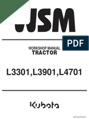 L3301, L3901, L4701 Workshop Manual. | Transmission ... on