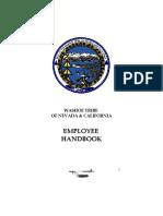 Employee Handbook 2009 FINAL