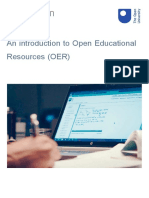 An Introduction to Open Educational Resources Oer Printable