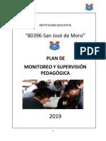 Plan de Monitoreo y Supervisión Pedagógica 2018 Sm