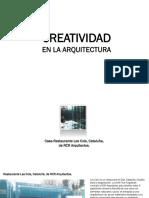 Creatividad en La Arquitectura [Recovered]