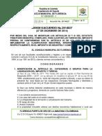 Acuerdo No. 027-2014 Tarifas Ica - Tarifas Predial