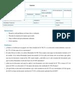 EXAMEN 1 Matemáticas Financieras
