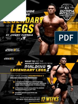 Jeremy Buendia Building Legendary Legs Pdf