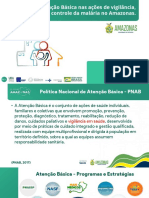 Parte 2 - Desafios da Atenção Básica nas ações de vigilância, prevenção e controle da malária no Amazonas