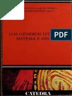 Los géneros literarios  sistema e historia (una introducción)
