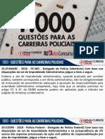 1000 Questões - Carreiras Policiais - Parte II