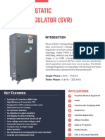 Igbt Based Static Voltage Regulator