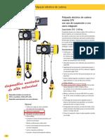 FT  CPV 5-4 con gancho de suspensión