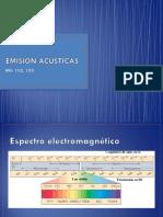 Emisiones acústicas