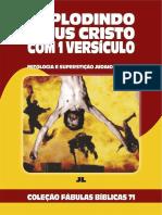 Coleção Fábulas Bíblicas Volume 71 - Explodindo Jesus Cristo com 1 Versículo.pdf