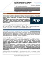 154934_gabarito Justificado - Direito Constitucional