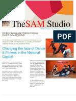 The SAM STUDIO - Certified Fitness Coach & Dance Choreographer