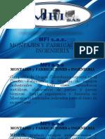 Catalogo Brochure de MFI Sas