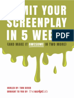 WS 7 Week Course Vomit Your Screenplay 1