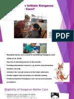 Kangaroo Mother Care Presentation