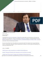Rodrigo Maia Diz Que Não Indicaria Filho Para Ser Embaixador - 18-07-2019 - UOL Notícias