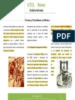 Prensa y Periodismo en Mexico