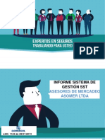 Informe Gestión Sgsst - 2017 Asomer