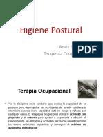 Copia de HIGIENE POSTURAL!.ppt