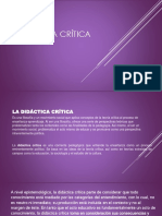 3.- DIDACTICA CRITICA