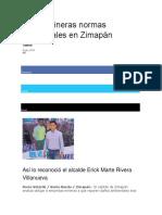 Violan Mineras Normas Ambientales en Zimapán