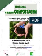 Workshop Vermicompostagem