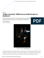 """Teodor Currentzis_ """"Hablo Con Ese Sordo Loco Que Era Beethoven"""" _ Babelia _ EL PAÍS"""