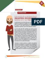 Evaluacion de La Informacion de Obligatoria Documentacion ISO 9001