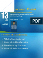 Modul 13. Materials Manufacturing Process Design