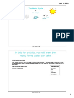 the weather cycle pdf