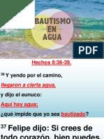 Batismo en Agua