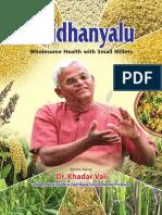 Siridhanya-English - Dr Khader Vali