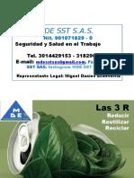 Diaopositivas 3r Ejemplos de Reciclaje Mde Sst