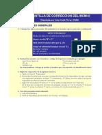 Millon Test MCM-II Sofware Automatizado