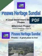 Pinawa Heritage Sundial