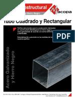 tubo cuadrado y rectangular