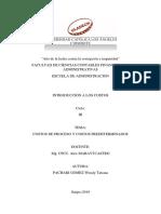 ACTIVIDAD N° 12 - COSTOS DE PROCESO Y COSTOS PREDETERMINADOS