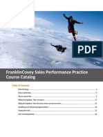 Franklincovey Sales Training Catalog