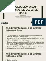 BBDD Unidad 1