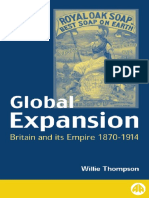 8. Willie Thompson - Global Expansion_ Britain and Its Empire, 1870-1914 (1999, Pluto Press)