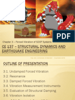 free vibration of sdof systems