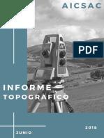 Informe Topografico de Parque Las Mercedes