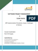 SPM Term Paper