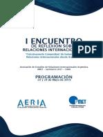 Programa Encuentro Aeria 3